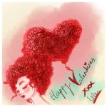 Valentines Card by lalycorn