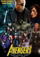 Avengers Movie Poster by Melciah1791