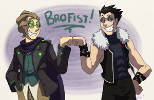 Brofist by forte-girl7