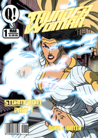 Thunder Woman No.1 Mock Cover by BSDigitalQ