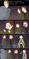 Supernatural in Dr Who wat by Luciferific