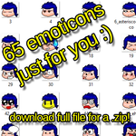 Old Emoticon pack by molegato