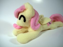 Lounging Fluttershy Plushie! by mcubb
