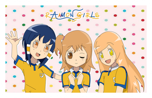 Raimon Girls! by 4-SaraySleed-4