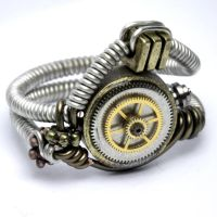 Steampunk Ring M by CatherinetteRings