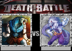 Sabrewulf Vs Jon Talbain by VitamineJJC