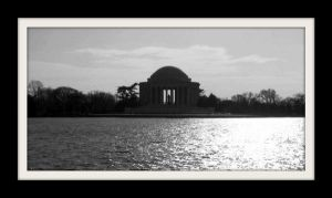 The Jefferson Memorial by dream-n-pink