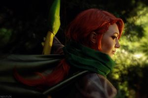 DotA 2 - WindRanger - Meet the prevailing winds by MilliganVick