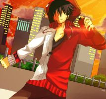 DAZE-shintaro by Toriichi