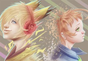 Kise and Zid by Miau-nya