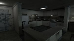 Kitchen (Silent Hill 4 - The Room) by iemersonrosa