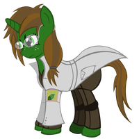 Emerald Flicker updated Fallout Equestria by RarityKaiba