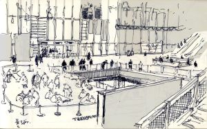 Moleskine Beaubourg by griffeur