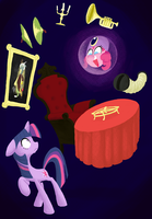 Twilight in the Haunted Mansion by AliasForRent