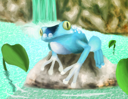 Froakie by BlueEevee