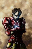 Thoughtful Iron Man by ginger-roots