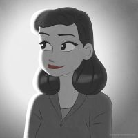 Disney Ladies: Meg (Paperman) by Mangsney
