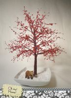Dogwood bead tree - SOLD by ohmymarie