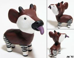 Okapi derp by painteddog