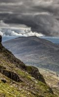 Views from Snowdon 3 by CharmingPhotography