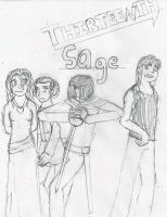 Thirteenth Sage: The Main Cast by AC-Drawings