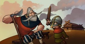 Young viking by ShumElkin