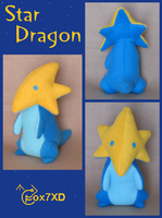 Star Dragon plush by Fox7XD