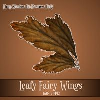 Leafy Wings 1 by zememz
