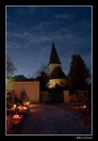 cementary on christmas by RRVISTAS