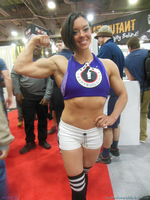 Jodi Boam and Fusion Bodybuilding At Arnold 2014 by zenx007