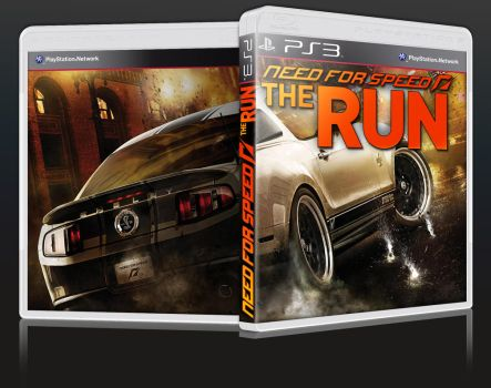 Need for Speed: The Run PlayStation 3 Box Art by terrencephil