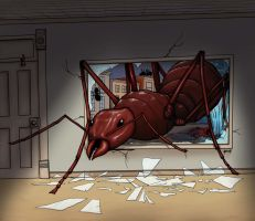 Giant Ant by HarshRealities