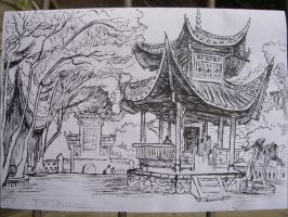 A Chinese pavilion by THB886