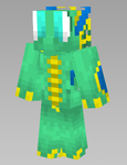 preview of Water Dragon mc skin by SnapDragonStudios