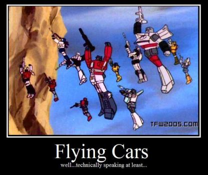 Flying cars by clipchip