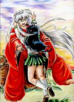 Happy to see you -Inuyasha by Sondra