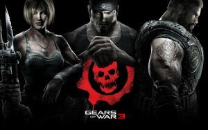 Gears of War 3 Wallpaper by MasterArt40000