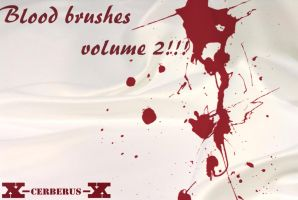 Blood brushes volume 2 by X-Cerberus-X