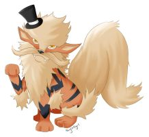 Fancy Arcanine by shycatgirl
