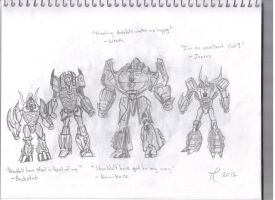 Transformers: Fall of Cybertron by Pythagasaurus