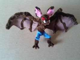 Man-Bat by fuzzyfigureguy