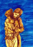 Intimate Holy Family. by mariapaulina