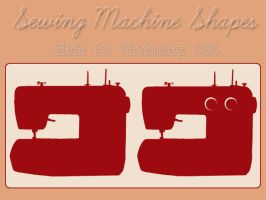 Sewing Machine Shapes by GeneveveX