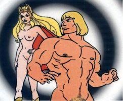 he-man and she-ra nude by Dennis80