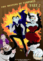 The meeting of vampires Part 2 cover by VampiraLady