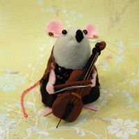 'Cello Mouse by The-House-of-Mouse