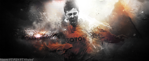 David Villa by khaled00z-art