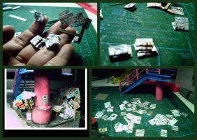 miniature Philippine newspapers and tabloids by EdonTuazon