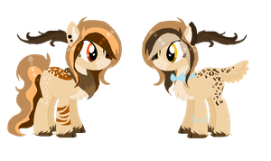 Sister Deer Auction #18 [OPEN] by LiszeueAdopts