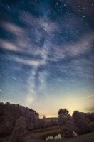 Milky Way Startrails by myINQI